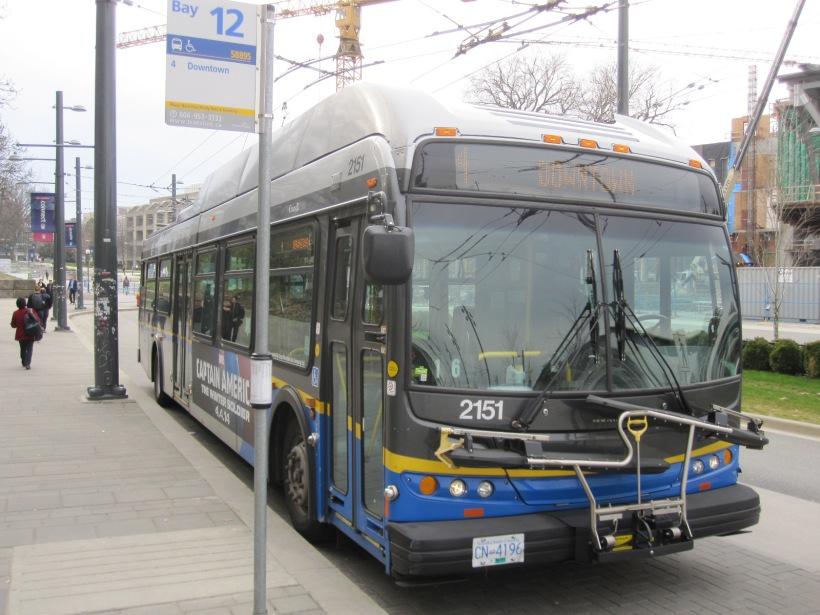 Vancouver Trolley Bus